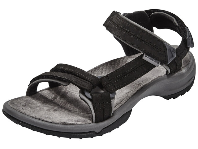 Teva Terra Fi Lite Leather Sandals Women Black